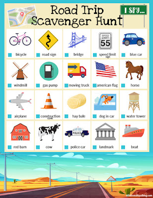 photograph about Road Trip Scavenger Hunt Printable called I Spy Highway Holiday Scavenger Hunt Free of charge Printable! - For the