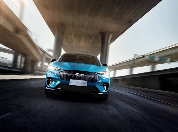 Ford Mustang Mach-E, SUV elétrico, será fabricado na China