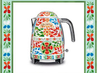 Sicily is My love, Peralatan Dapur Artistik Dari Dolce & Gabbana