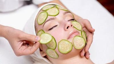 how-to-get-rid-scars-on-face-with-cocountoil-and-cucumber الخيار وجوز الهند للتخلص من آثار حبوب الوجه