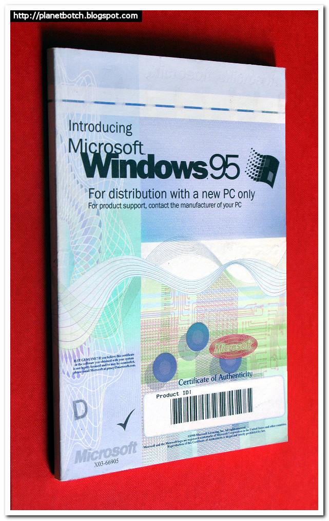 Microsoft Windows 95 Manual