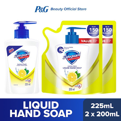 Safeguard Lemon Fresh Liquid Hand Soap