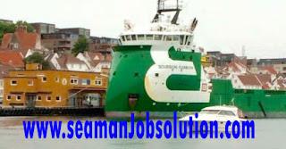 Seafarers job deck cadet supply vessel