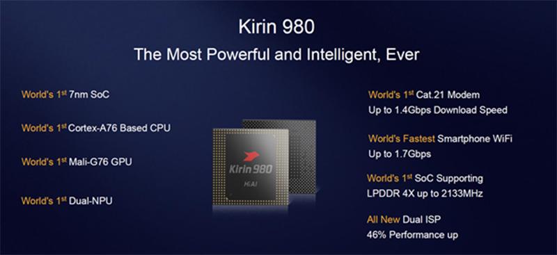 Kirin 980 AI chip