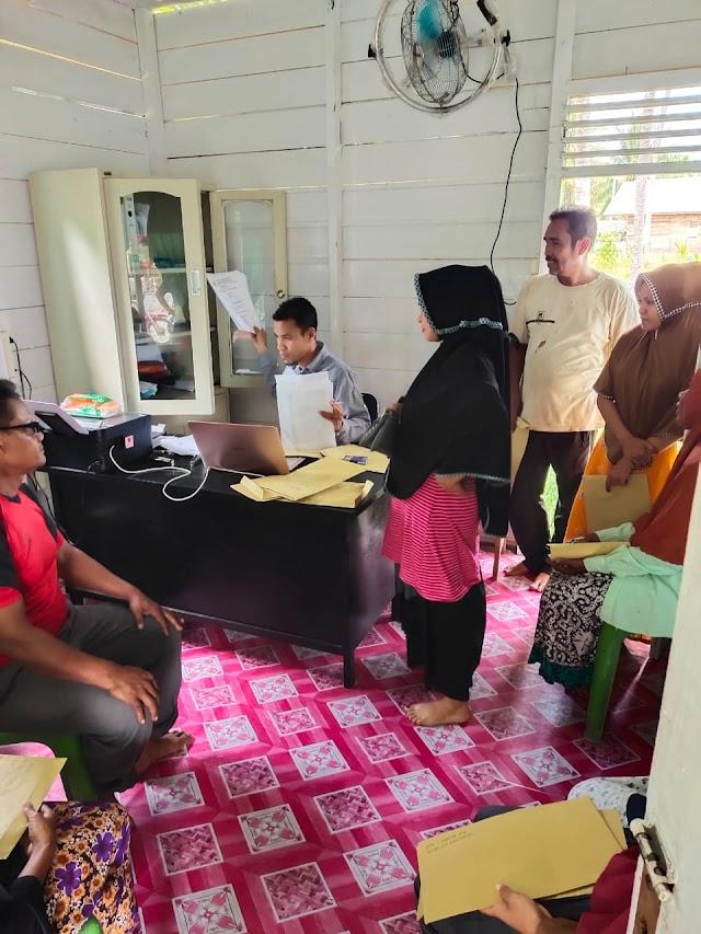 Pengumpulan Berkas BPUM Gampong Cot Bada Baroh