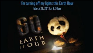 Earth Hour Panda