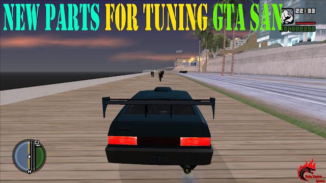 New Parts For Tuning GTA San Andreas Mod