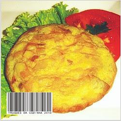 Tortilla de batatas fácil