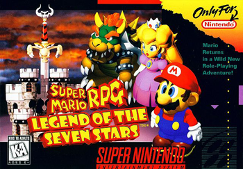Rom de Super Mario RPG - Legend of the Seven Stars - SNES - Em Português - Download