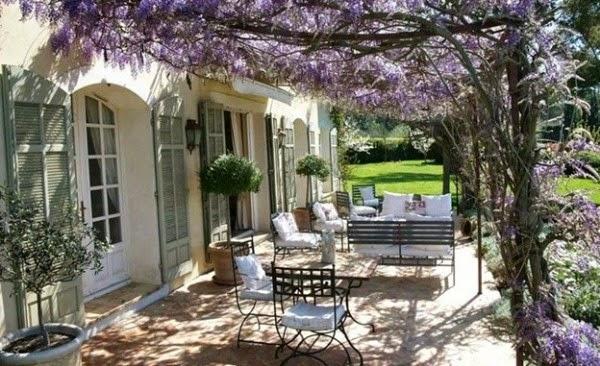 Decoraconmar a exteriores con encanto - Casa diez recibidores ...