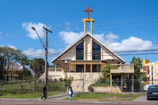 Igreja da Paróquia Santa Cruz e Santa Efigênia