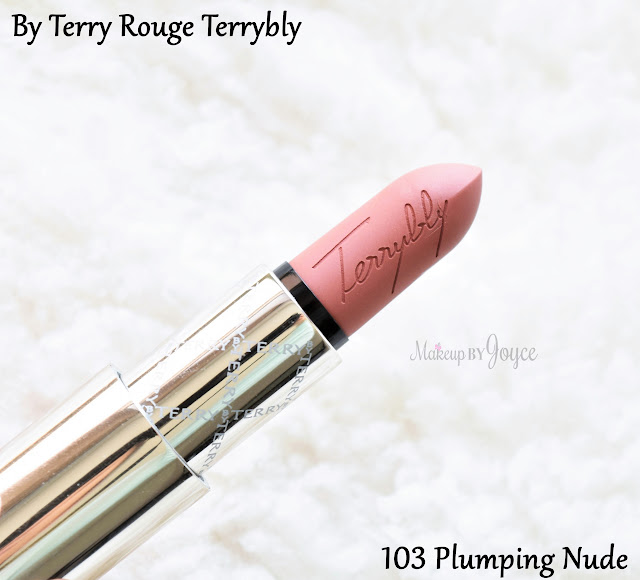By Terry Rouge Terrybly Lipstick 103 Plumping Nude Review