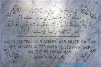 Gambar Moment Jenderal Johan Harmen Rudolf Köhler Di Aceh
