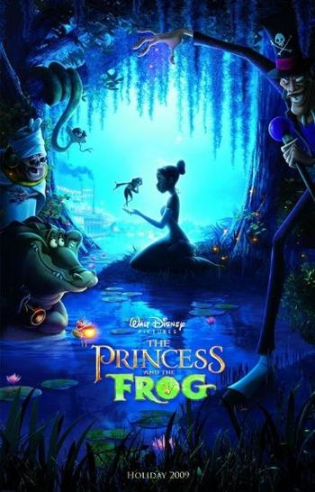 The Princess and the Frog 2009 480p 300MB BRRip Dual Audio
