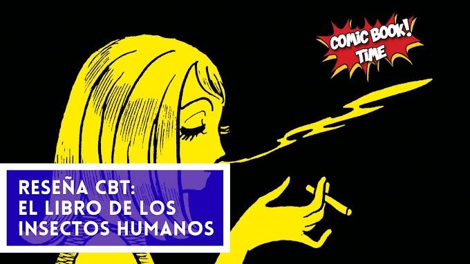 """Reseña manga: """"El libro de los insectos humanos"""" de Osamu Tezuka"""