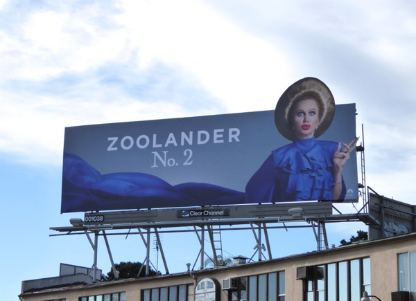 Kristen Wiig Zoolander 2 movie billboard