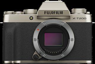 Fujifilm X-T200, compact and stylish