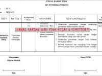 Jurnal Harian Guru PJOK Kelas 6 SD/MI Semester 1 Terkini