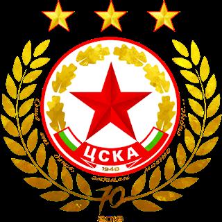 CSKA Sofia logo 70th anniversary 512x512px