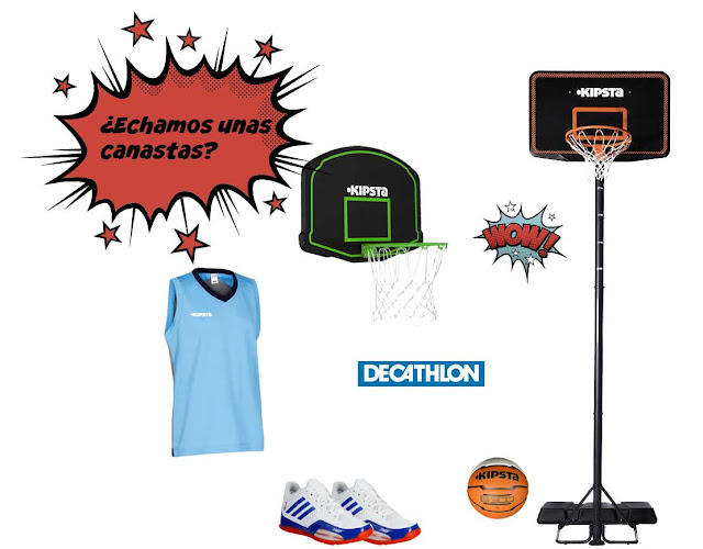 Basket decathlon thader
