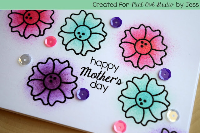 Mother's Day Card by Jess Gerstner for Mint Owl Studio