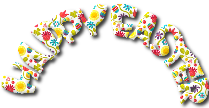 words,text,happy easter,png,tube,infantil,pascuas