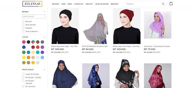 Katalog fashion toko online