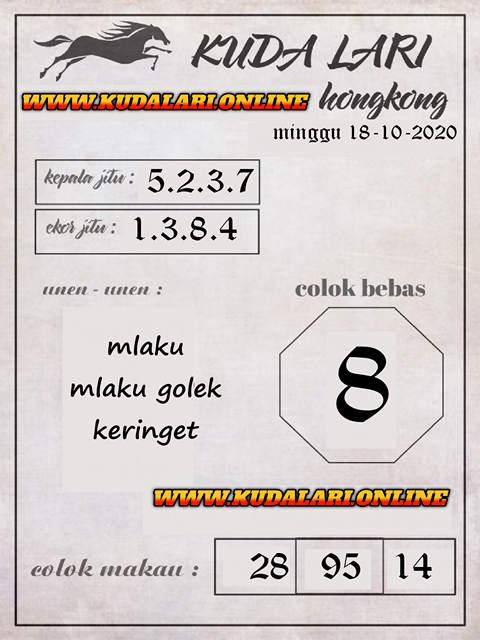 Kode syair Hongkong Minggu 18 Oktober 2020 258