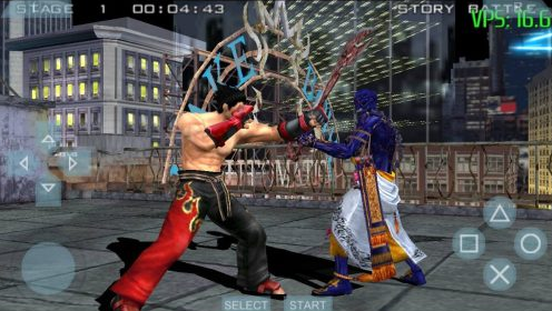 tekken 5 psp iso for android