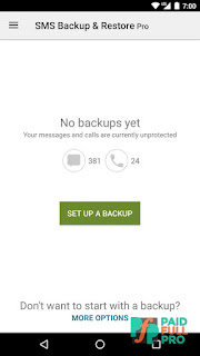 SMS Backup And Restore Pro Paid APK