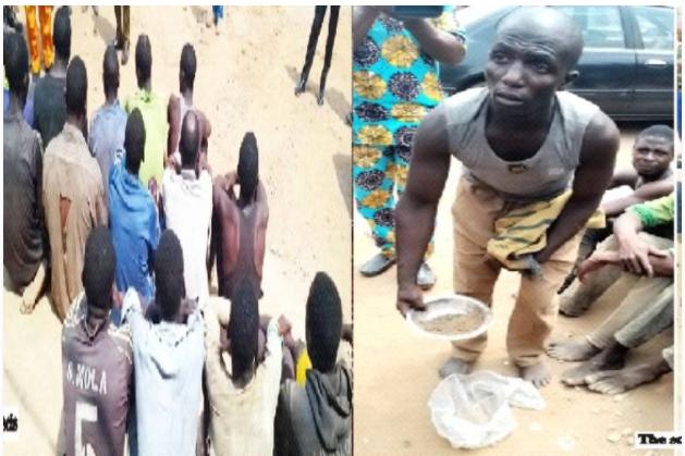 Amotekun arrested 15 illegal miners in Ondo