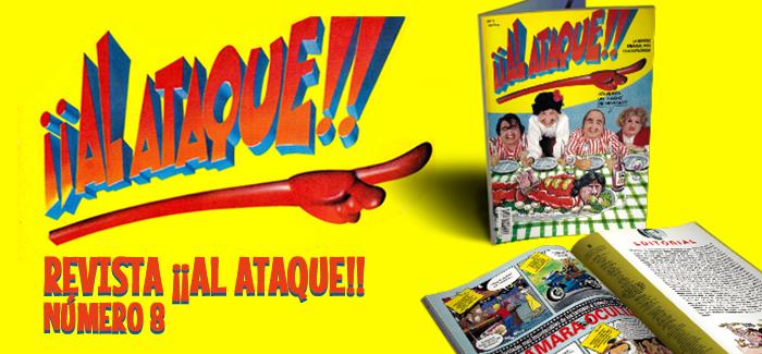 Revista ¡¡Al Ataque!! Nº 8 (Ediciones B, 1993)