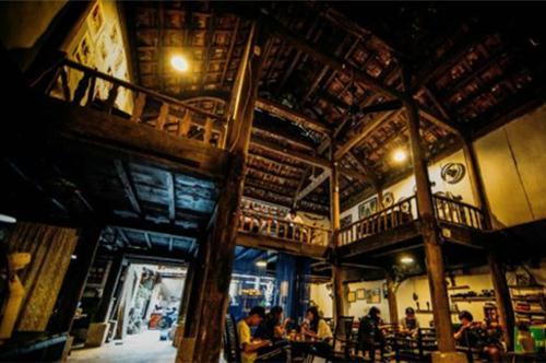 Không gian cà phê nghệ thuật của Hà Nội