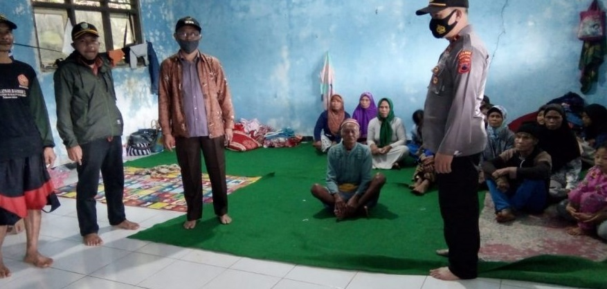 Kapolsek Karangreja: Warga di Lokasi Pengungsian Masih Butuh Bantuan Akomodasi