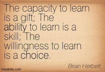 choice to learn