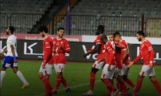 اهداف مباراة الاهلي وابوقير في كاس مصر