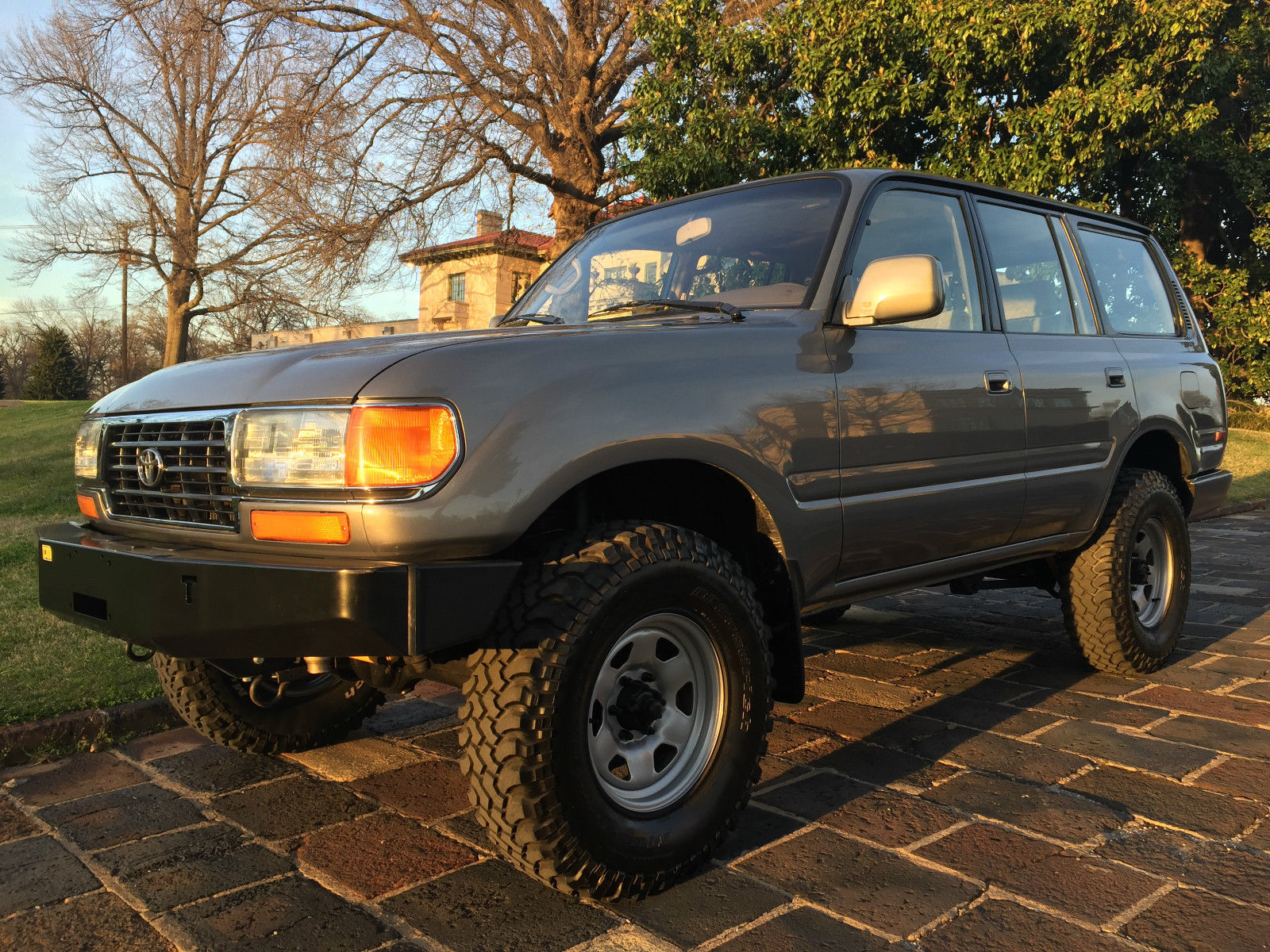 Toyota Land Cruiser Rare Poverty Pack 1997 FZJ80 Series ...