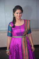 Shilpa Chakravarthy in Purple tight Ethnic Dress ~  Exclusive Celebrities Galleries 035.JPG