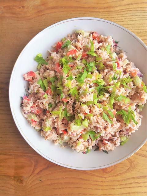 Ryżowa sałatka z tuńczykiem / Rice and Tuna Salad