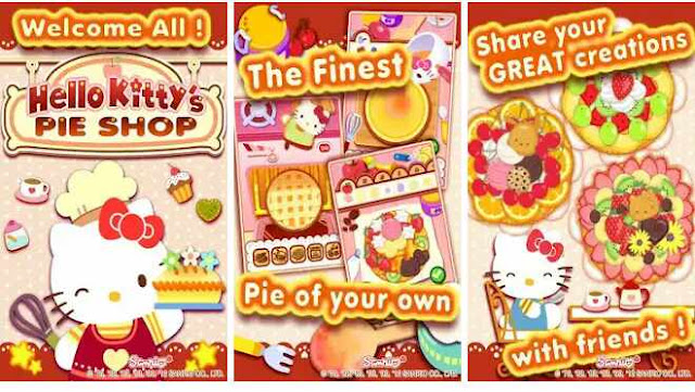 Game Hello Kitty's Pie Shop