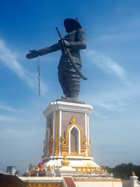 Statue in Vientiane, Laos