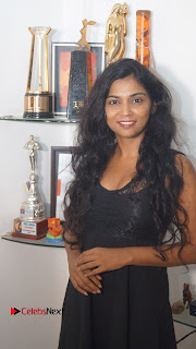 Actress Usha Jadhav Stills at Veerappan Movie Interview  0012.JPG