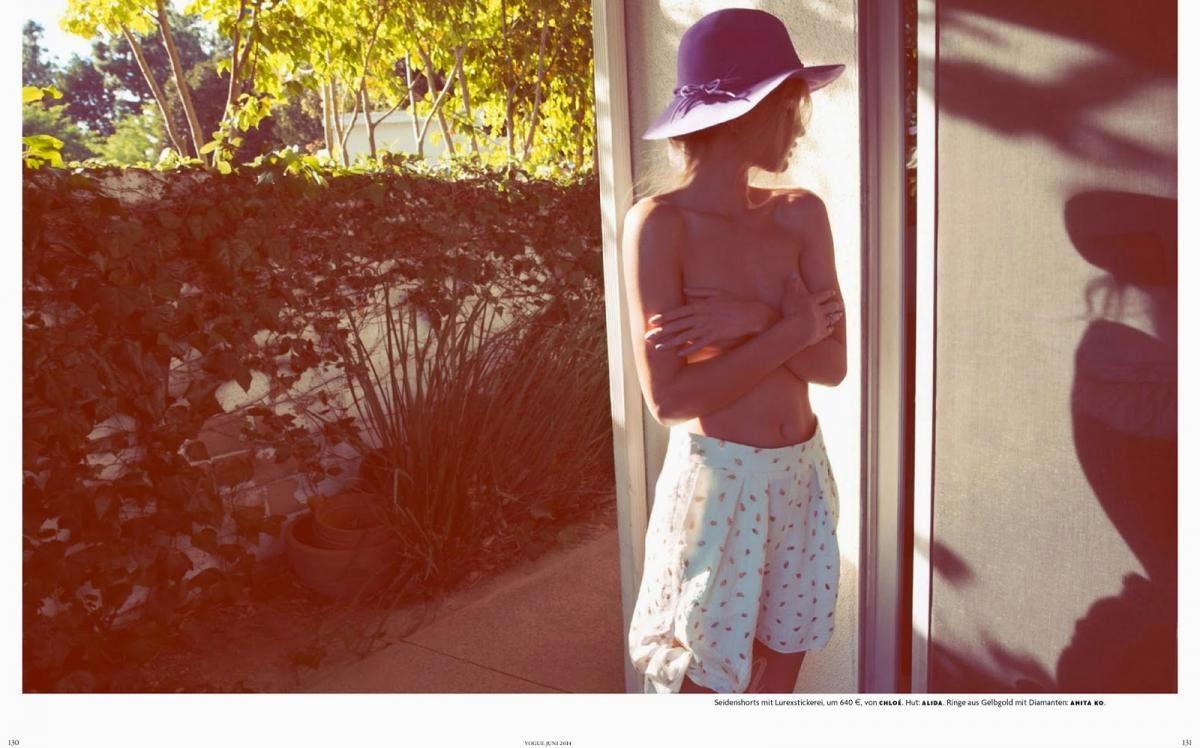 rosie huntington-whiteley vogue