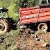 Ibicaré – Homem sobrevive a acidente com trator