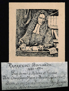 Ramazzini made important observations about cancer and malaria