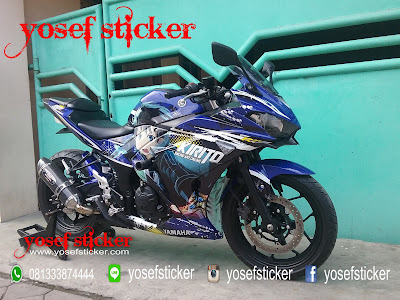 DECAL SURABAYA yamaha r25 BY YOSEF STICKER