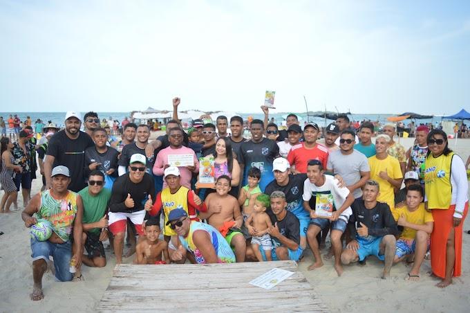 Pernambuquinho é campeão de Beach Soccer dos Jogos de Verão 2020