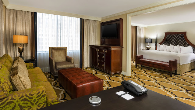 Find luxurious accommodations and a quiet environment within steps of the French Quarter at InterContinental New Orleans.