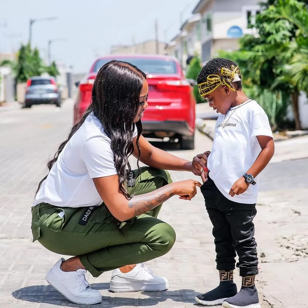Tiwa savage shut down cinema for son to watch movie