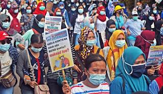 1 November Mendatang Akan Ada Aksi Demonstrasi Besar di 200 Kabupaten, Kaum Buruh Bakal Serbu Istana Sampai Menang